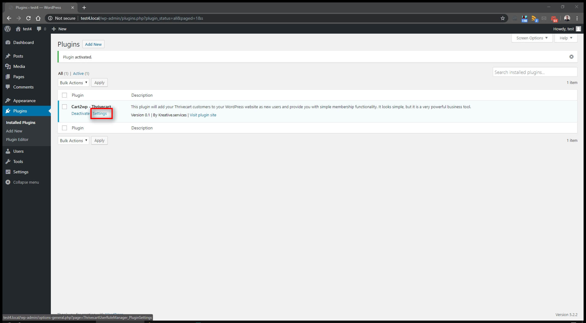 Cart2wp Thrivecart To WordPress Integration 3