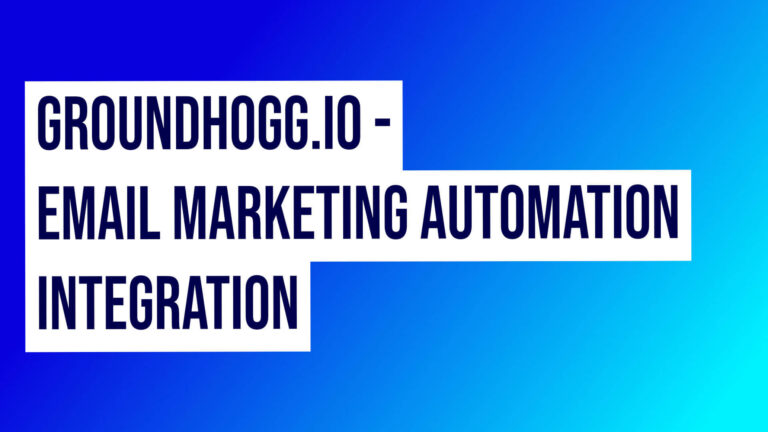 Groundhogg Email Marketing Automation Integration