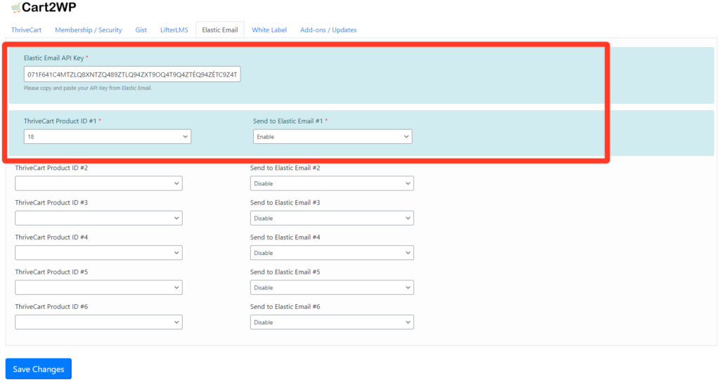 Elastic Email Integration To Thrivecart 0